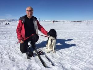 Mira og Halvor, skitur påsken 2016.