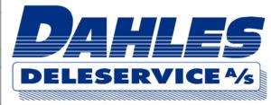 Dahles Deleservice AS logo - sponsor